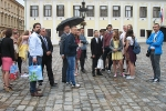 Gimnazjaliści w Chorwacji