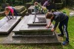 Dbamy o grób Patronki szkoły